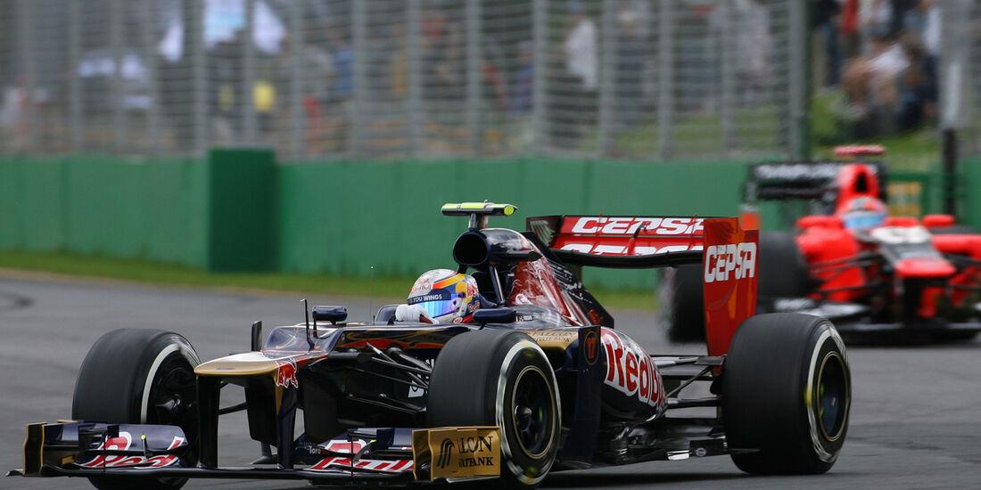 Jean-Eric Vergne - Toro Rosso - GP Australien - Melbourne - 16. März 2012
