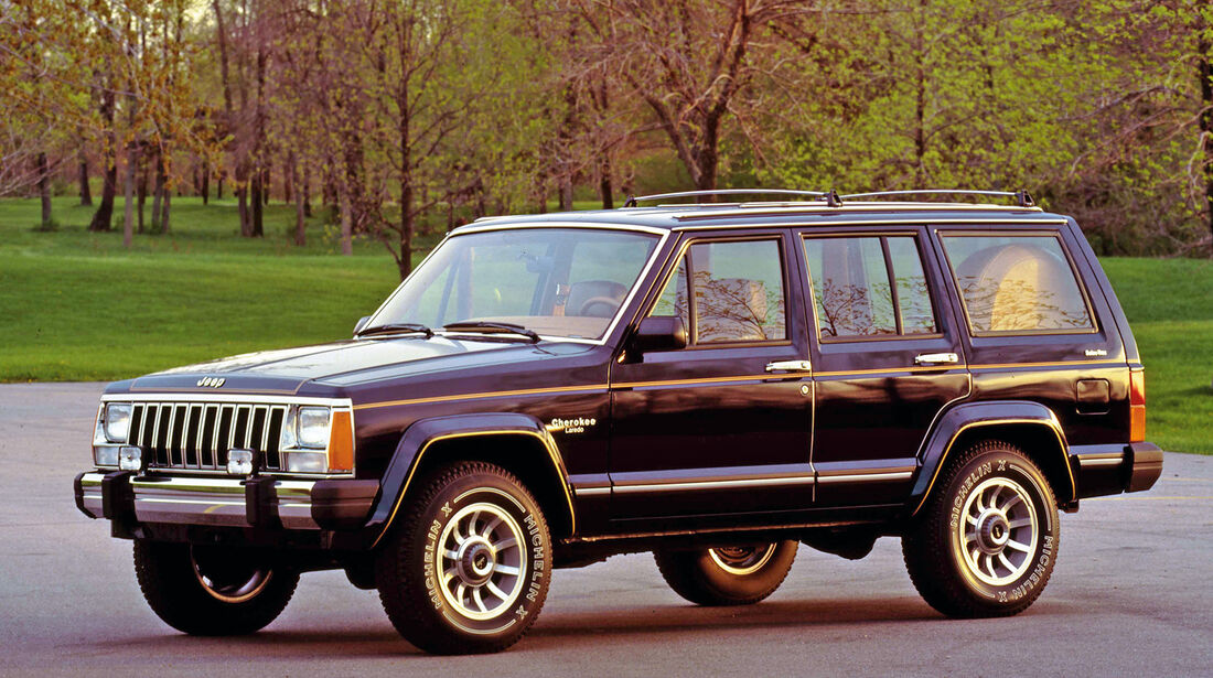 Jeep Cherokee, Seitenansicht