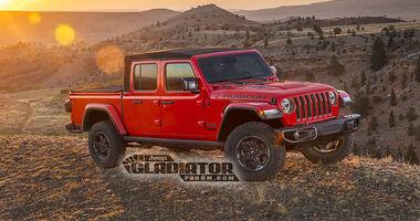 Jeep Gladiator JT Pickup