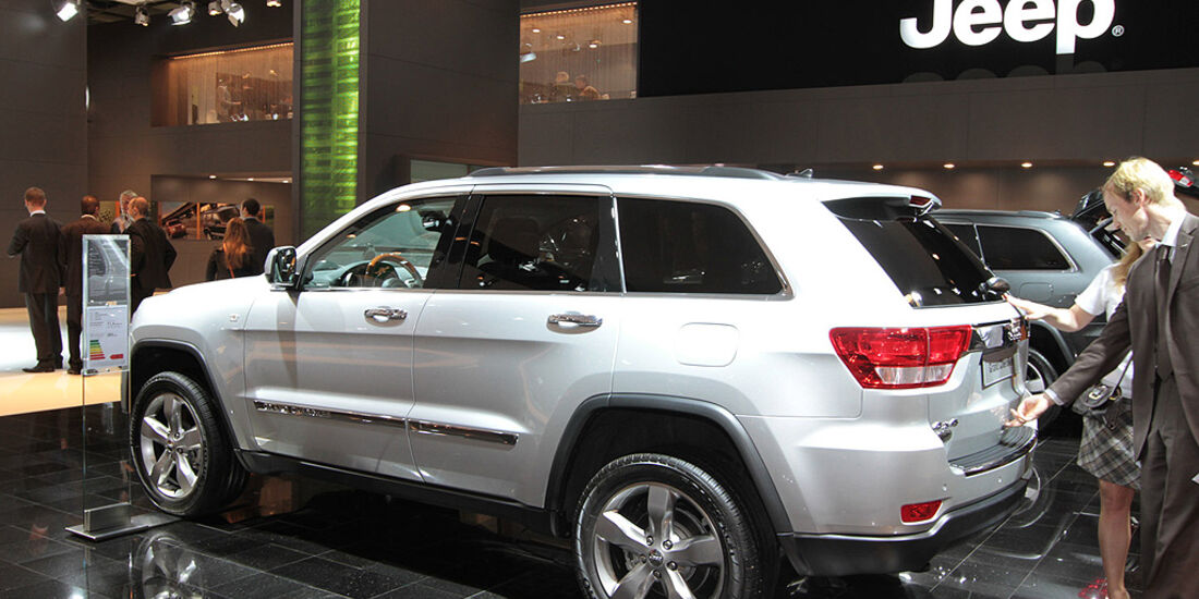 Jeep Grand Cherokee, Paris 2010