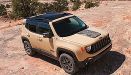 Jeep Renegade Deserthawk Los Angeles Motorshow 2016
