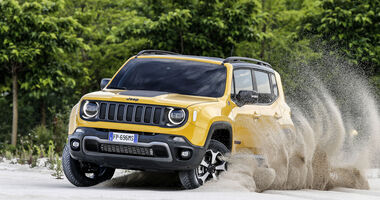 Jeep Renegade Facelift Modelljahr 2019