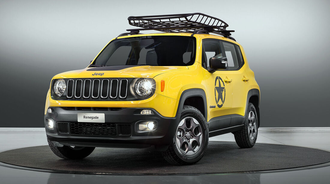 Jeep Renegade Mopar Autosalon Paris 2016