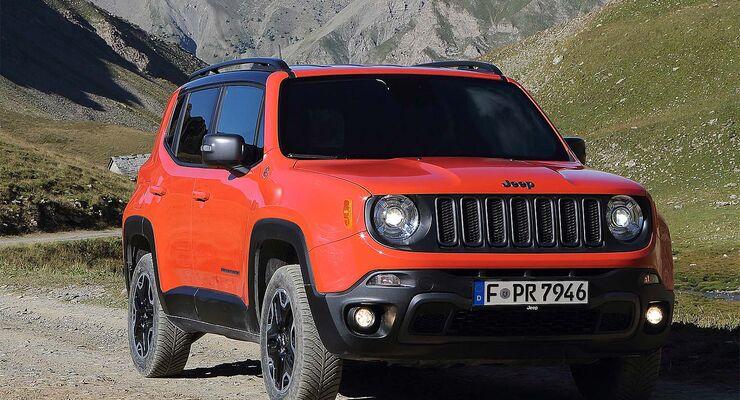 Jeep Renegade Trailhawk Im Ersten Test Kleiner Ganz Groß