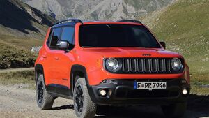 Jeep Renegade Trailhawk Fahrbericht
