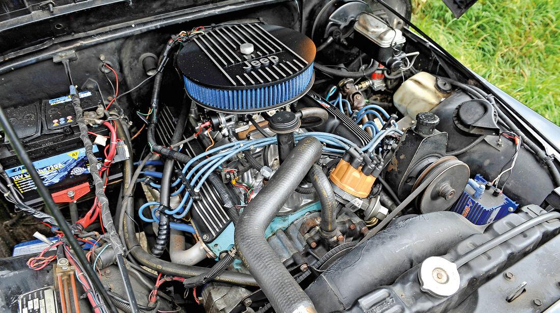 Jeep Wrangler, Motor