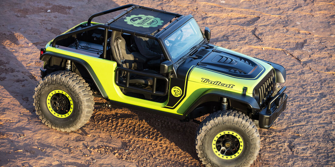 Jeep Wrangler Trailcat Moab Easter Jeep Safari 2016