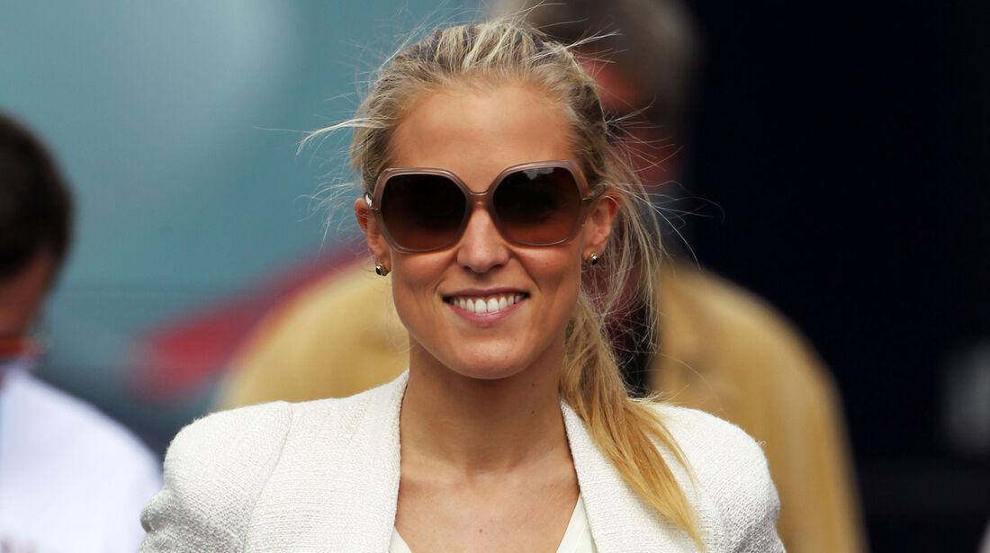 Jennifer Becks (Freundin von Adrian Sutil) - Formel 1 - GP Deutschland - 6. Juli 2013