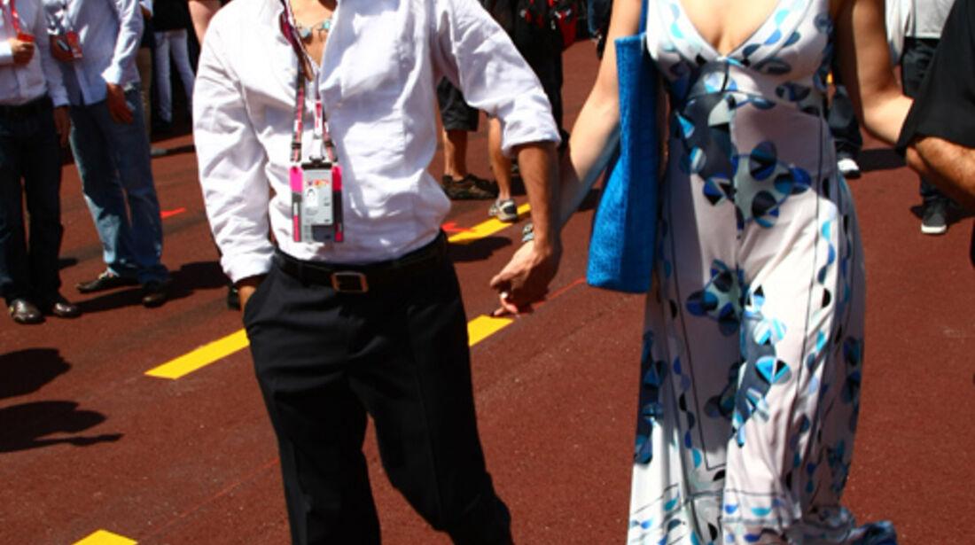 Jennifer Lopez beim GP Monaco