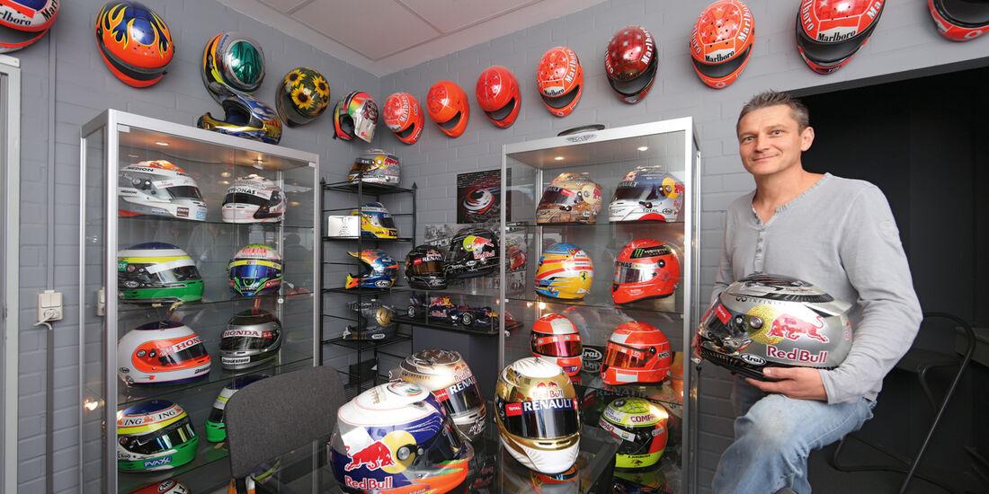 Jens Munser - Helmdesigner Vettel