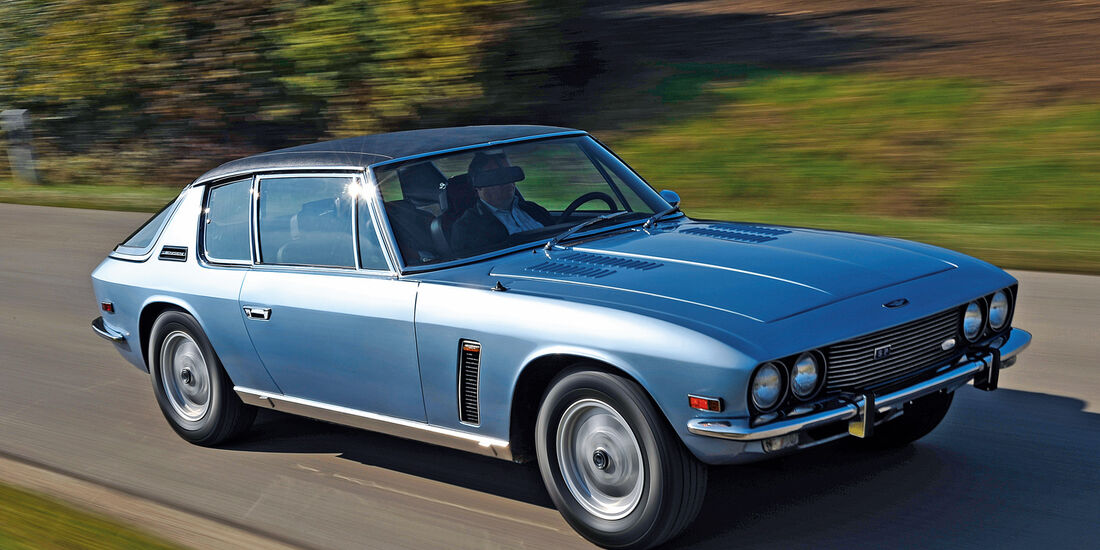 Jensen Interceptor SP, Frontansicht