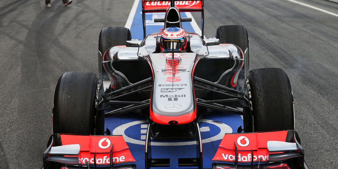 Jenson Button - Barcelona F1 Test 2013
