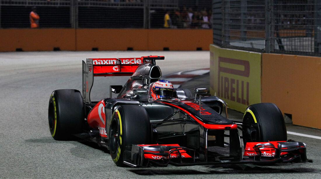Jenson Button F1 Singapur 2012