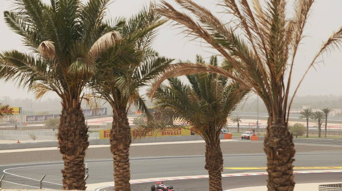 Jenson Button - Formel 1 - GP Bahrain - 20. April 2012