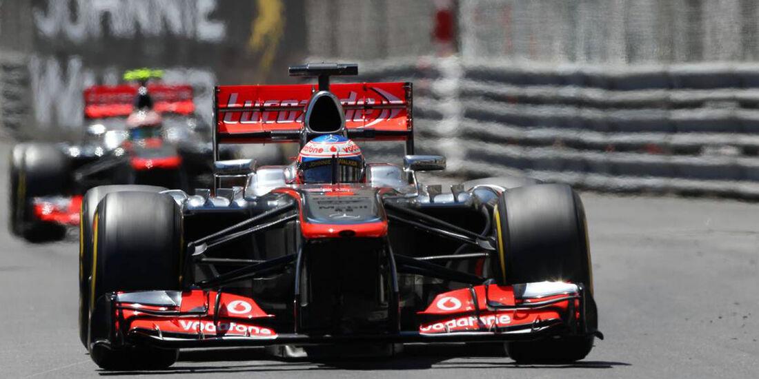 Jenson Button - Formel 1 - GP Monaco - 26. Mai 2013