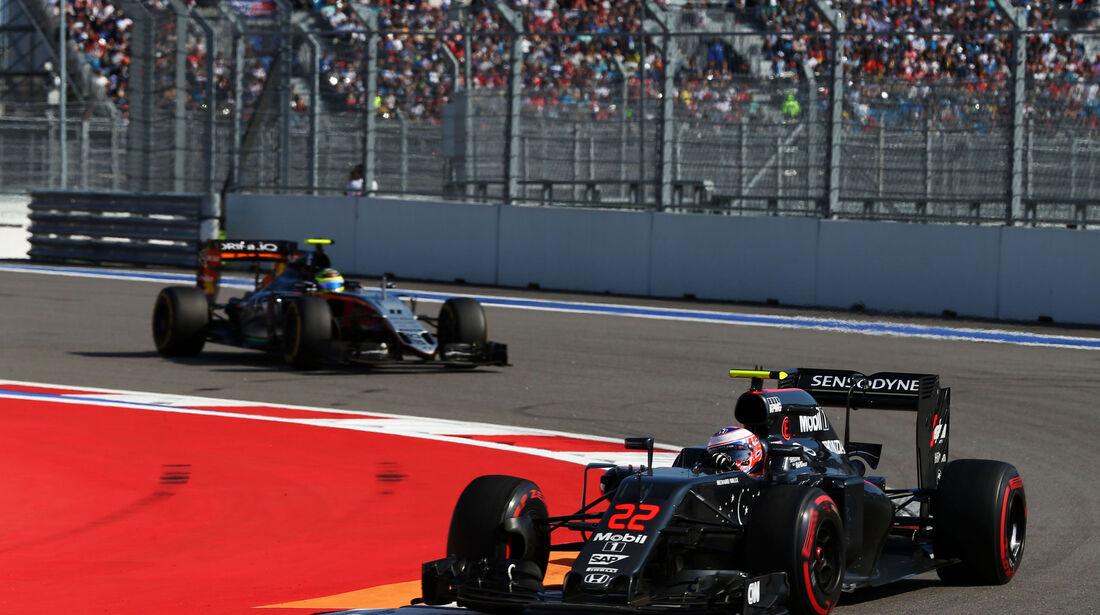 Jenson Button - Formel 1 - GP Russland - 1. Mai 2016