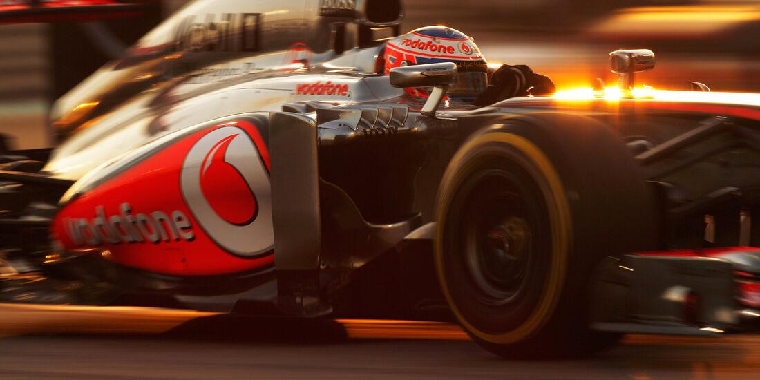 Jenson Button - GP Abu Dhabi 2013