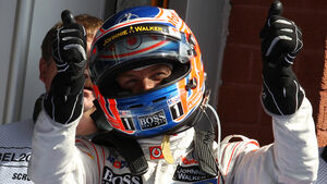 Jenson Button GP Belgien 2012