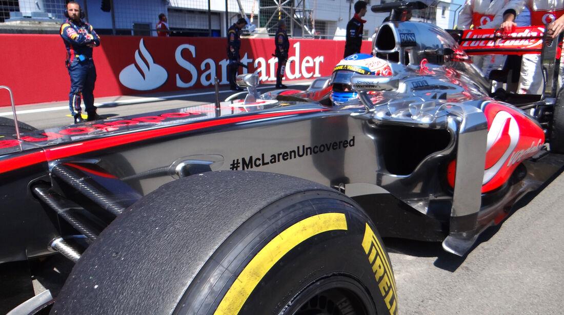 Jenson Button - GP Deutschland 2013