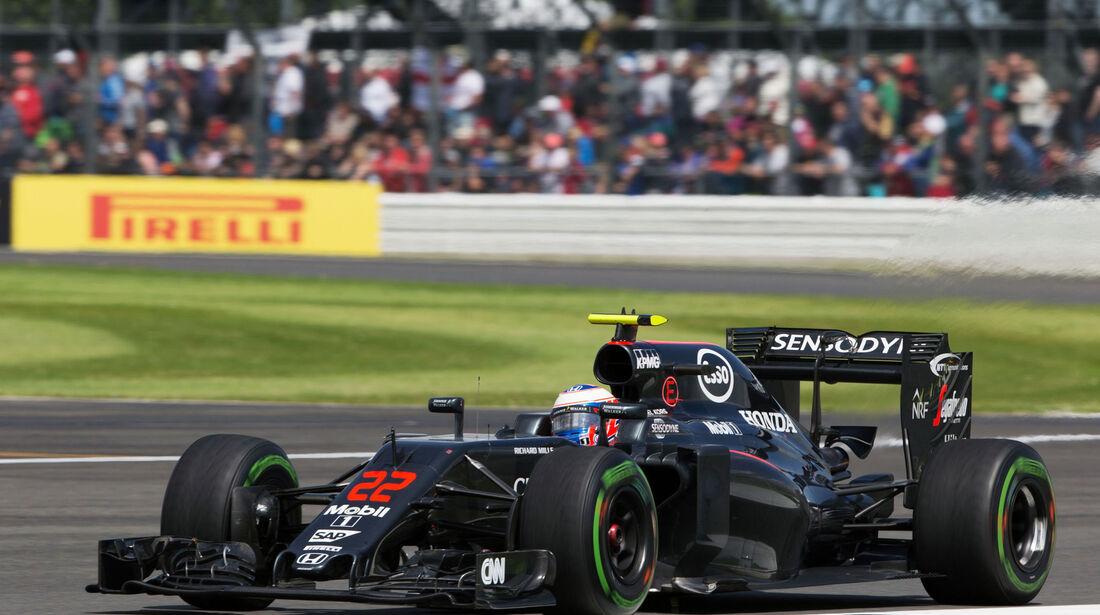 Jenson Button - GP England 2016 - Silverstone