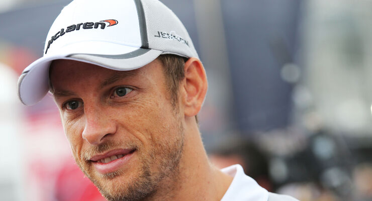 Jenson Button - GP Italien 2014