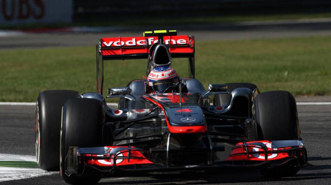 Jenson Button - GP Italien - Monza - 9. September 2011