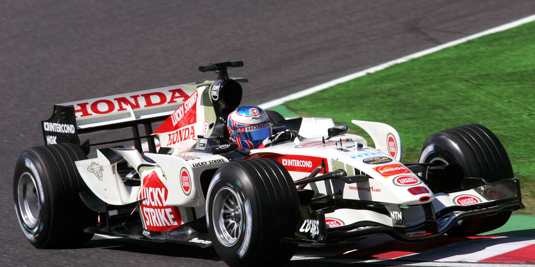 Jenson Button - GP Japan 2006