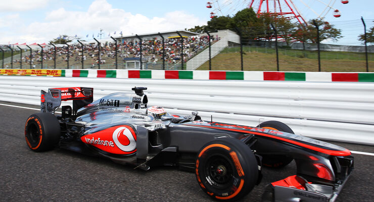 Jenson Button - GP Japan 2013