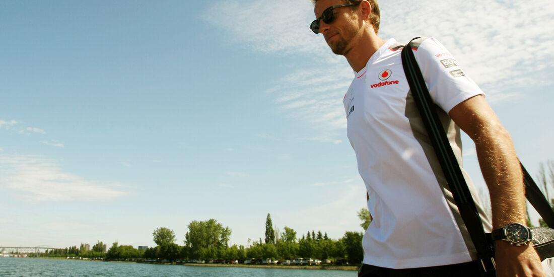 Jenson Button - GP Kanada - Formel 1 - 7. Juni 2012