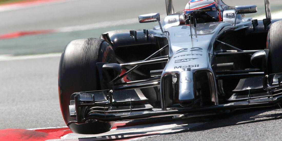 Jenson Button - GP Spanien 2014