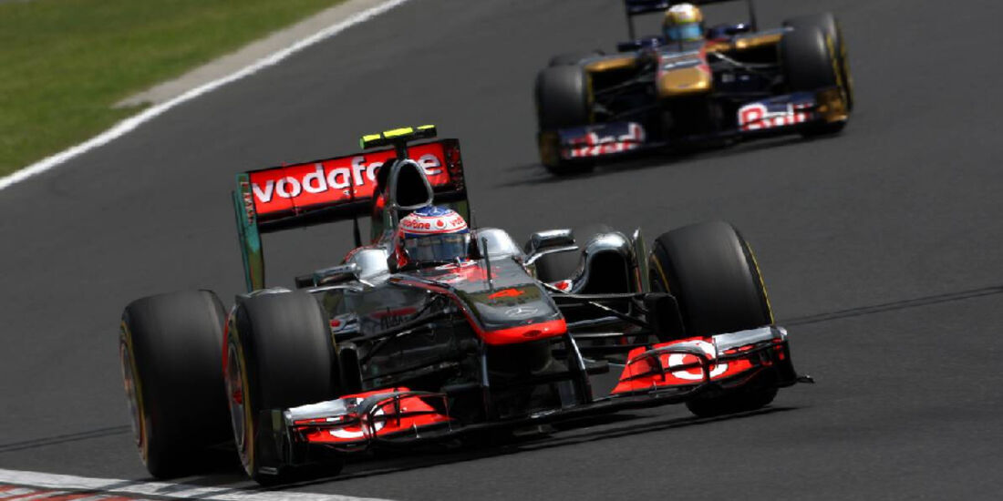 Jenson Button - GP Ungarn - Formel 1 - 30.7.2011