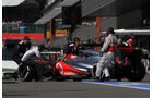 Jenson Button - McLaren - Formel 1 - GP Belgien - Spa-Francorchamps - 1. September 2012