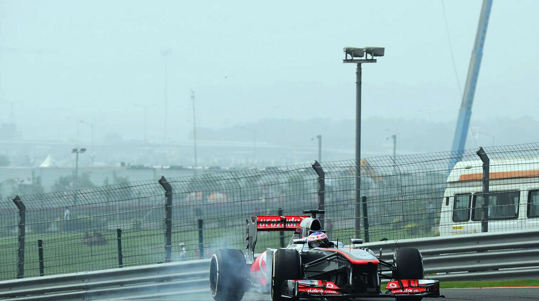 Jenson Button - McLaren - Formel 1 - GP Indien - 26. Oktober 2013