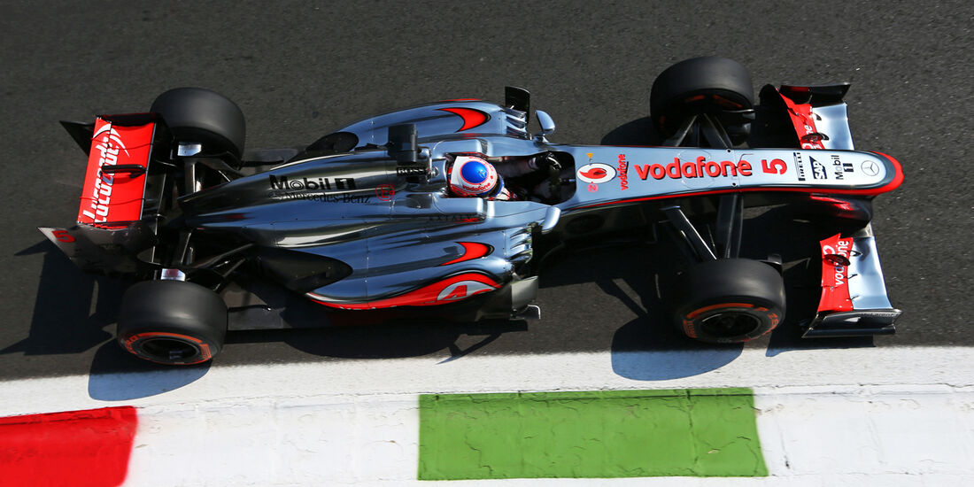 Jenson Button - McLaren - Formel 1 - GP Italien - 6. September 2013