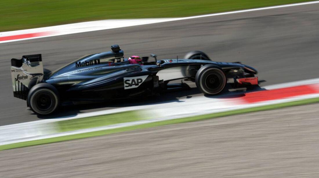 Jenson Button - McLaren   - Formel 1 - GP Italien - 6. September 2014