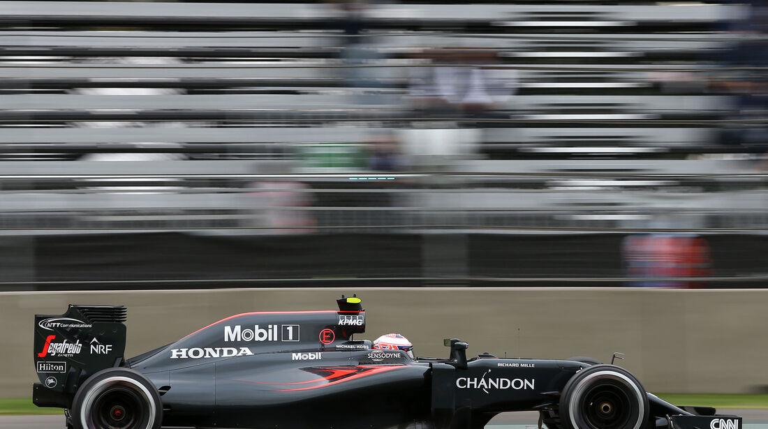 Jenson Button - McLaren - Formel 1 - GP Mexiko - 28. Oktober 2016
