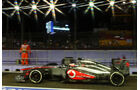 Jenson Button - McLaren - Formel 1 - GP Singapur - 20. September 2013