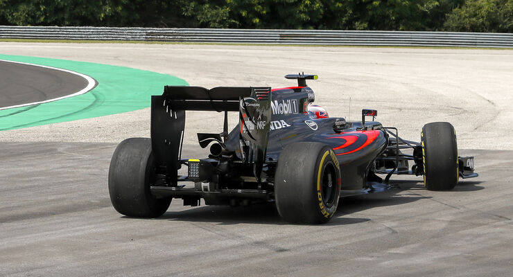Jenson Button - McLaren - Formel 1 - GP Ungarn 2016
