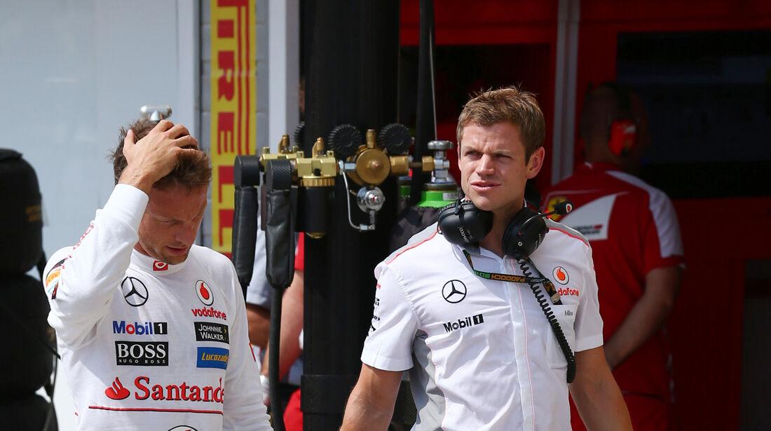 Jenson Button - McLaren - Formel 1 - GP Ungarn - 27. Juli 2013