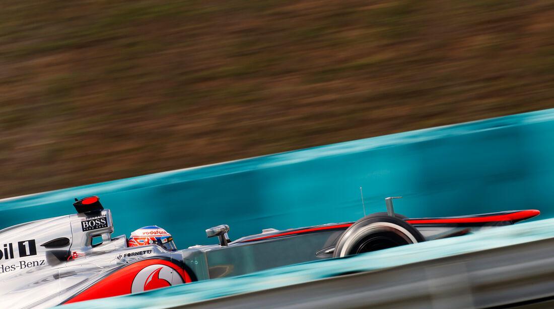 Jenson Button - McLaren - Formel 1 - GP Ungarn - Budapest - 27. Juli 2012