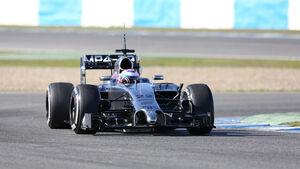 Jenson Button - McLaren - Formel 1 - Jerez - Test - 30. Januar