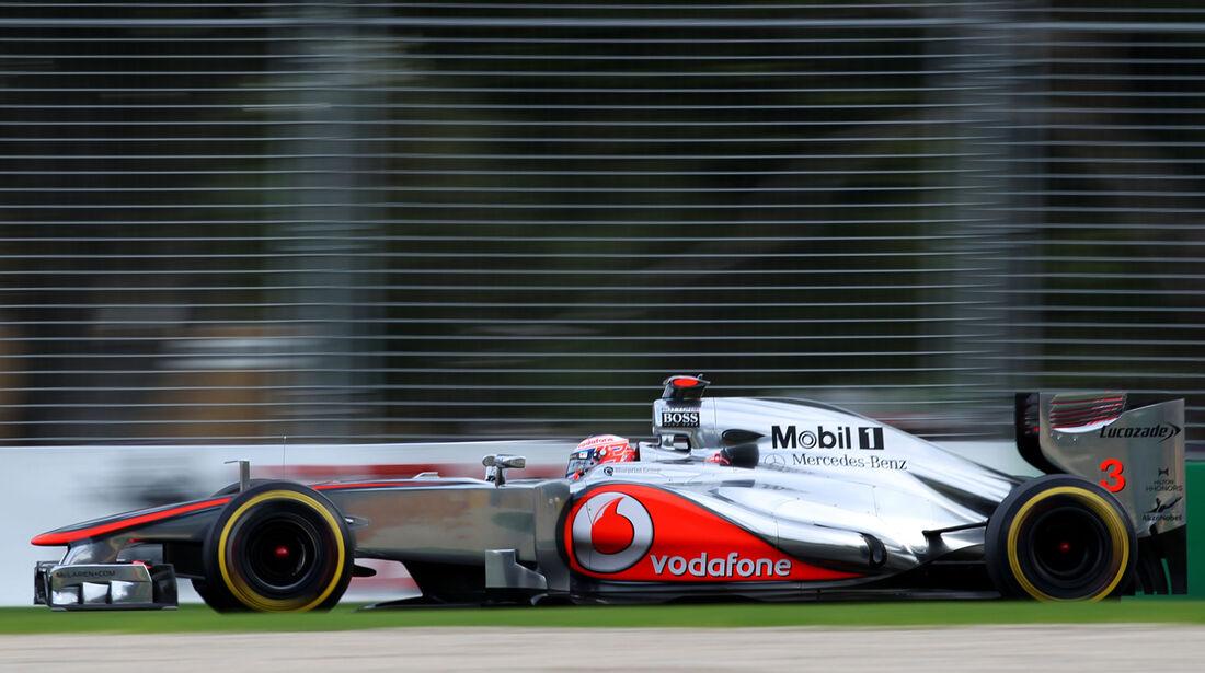 Jenson Button - McLaren - GP Australien - Melbourne - 16. März 2012