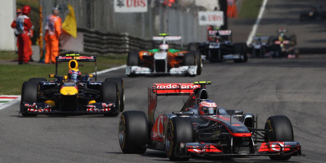 Jenson Button McLaren GP Italien 2011