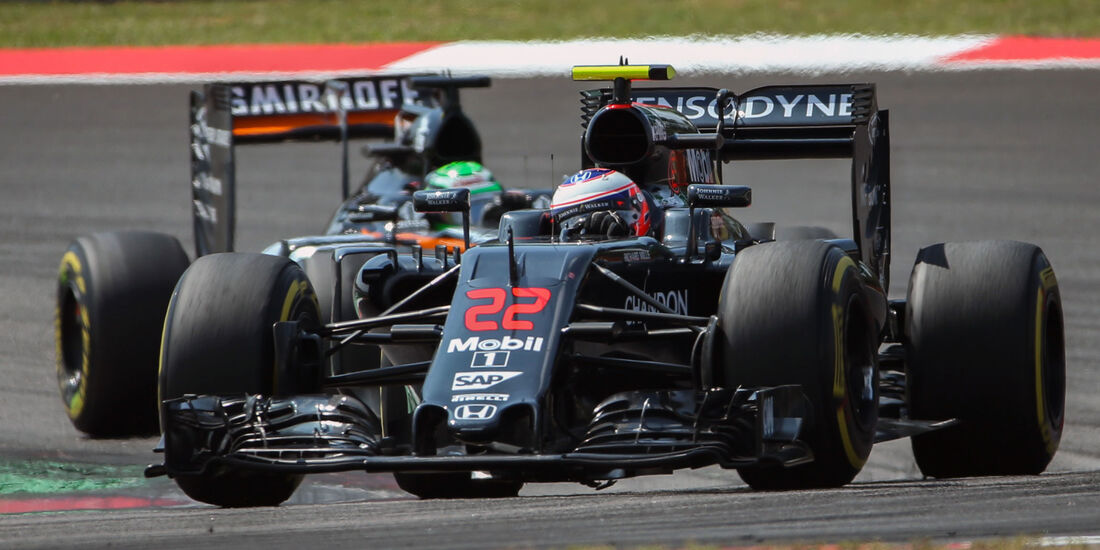Jenson Button - McLaren - GP Malaysia 2016 - Sepang