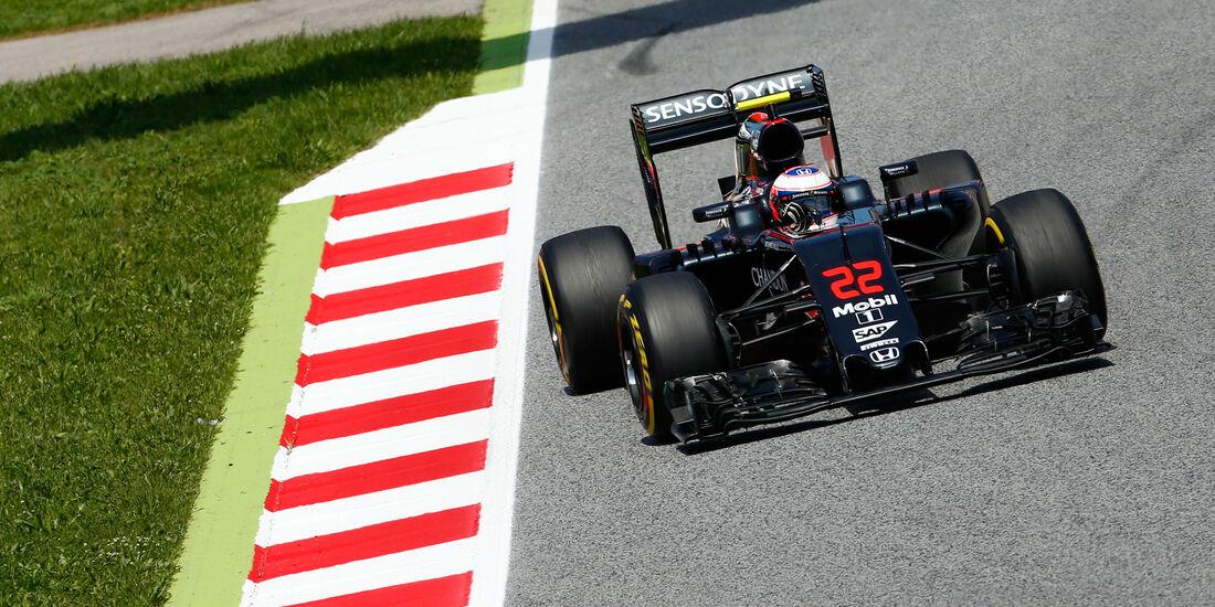 Jenson Button - McLaren - GP Spanien 2016 - Qualifying - Samstag - 14.5.2016
