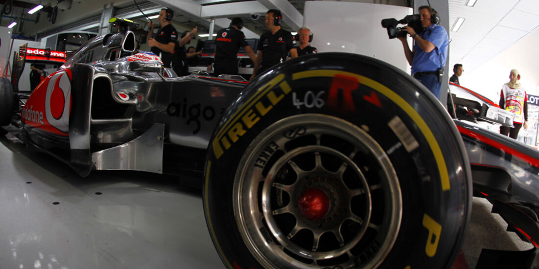 Jenson Button Pirelli 2011