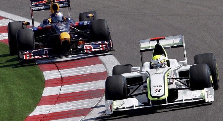 Jenson Button & Sebastian Vettel