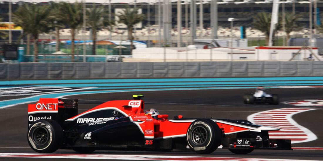 Jerome D'Ambrosio GP Abu Dhabi 2011