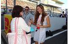 Jessica Michibata - Formel 1 - GP Japan - 10. Oktober 2013