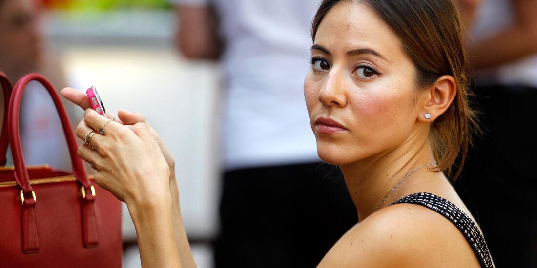 Jessica Michibata - Formel 1 - GP Singapur - 22. September 2012